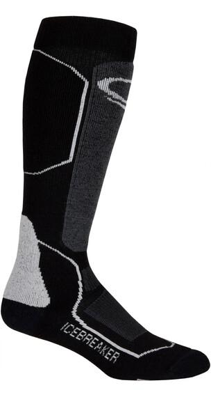 Icebreaker Ski+ Medium OTC Sokken grijs/zwart